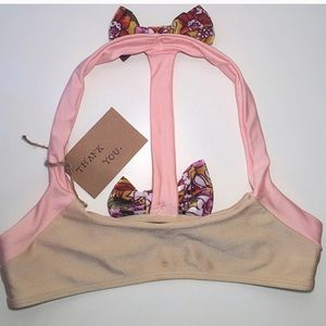 [lolli swim] bow back bikini | size xs